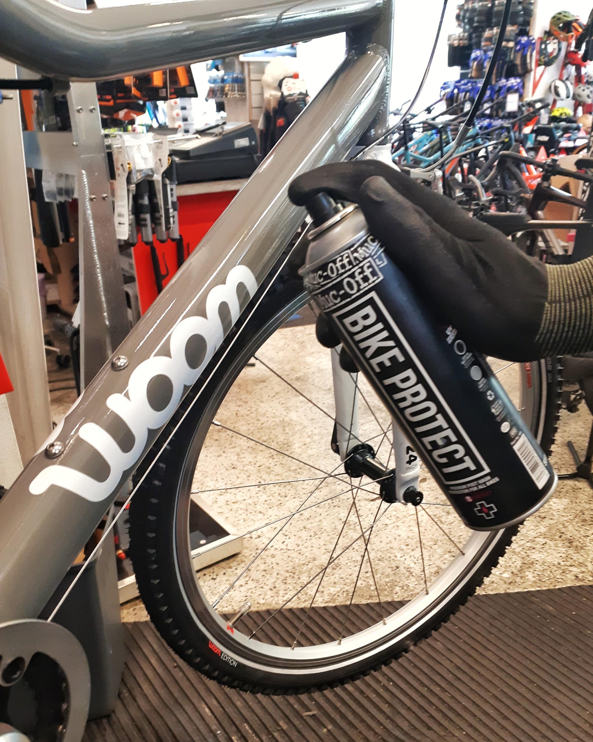 Huoltaa pyörä, kun siitä on eniten hyötyä.